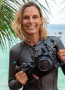 Underwater videography and photography instructor Elisabeth Lauwerys