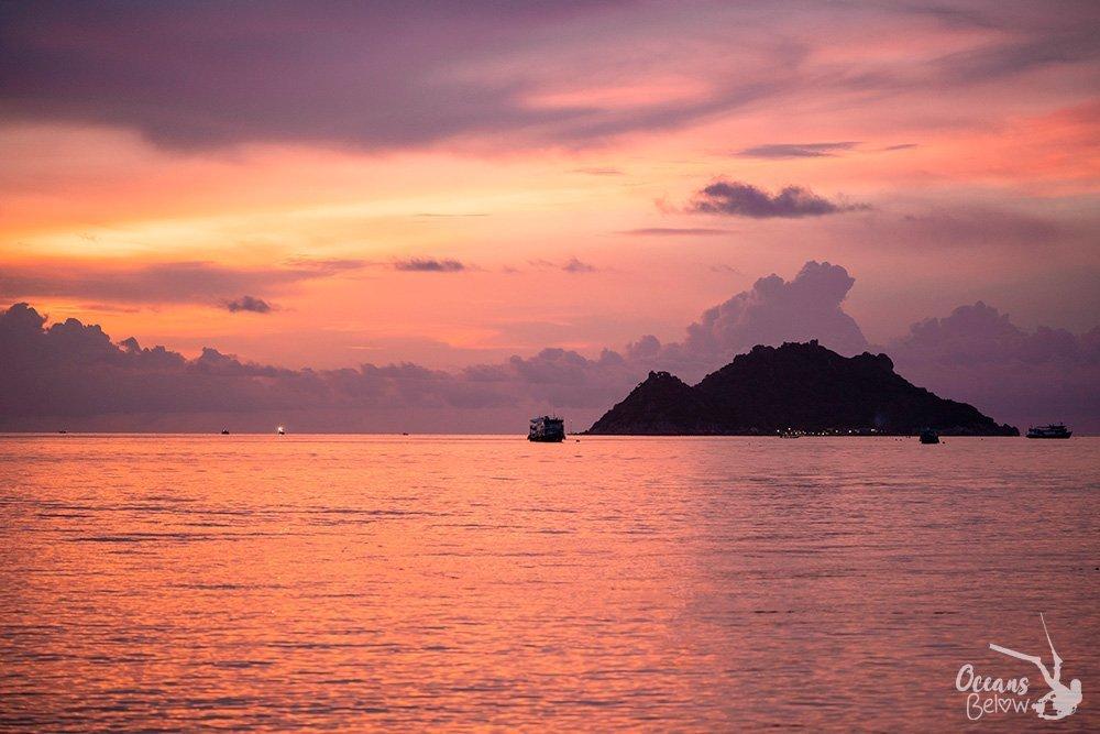 Sunset Nang Yuan