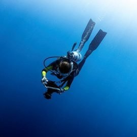 Professional underwater videography training in Thailand