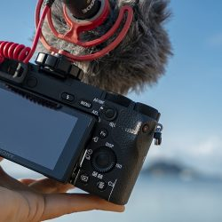 video camera for underwater filming